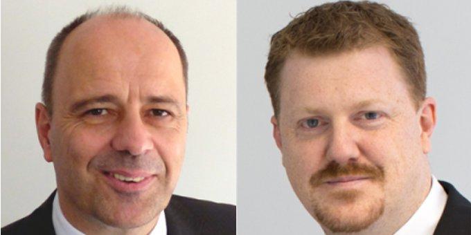 Frank Dux (links) und Björn Hassing ergänzen die Geschäftsführung der Coconet-Tochter Coconet Computer-Communication Networks.