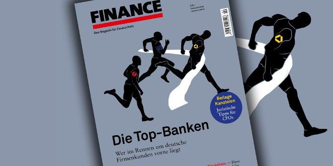 Enges Rennen: Die Commerzbank setzt sich auf dem ersten Platz fest. Besonders im Mittelstand will sie die Sparkassen und Genossenschaftsbanken attackieren.