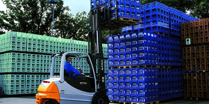 Finanzierungen: Kion hat einen Konsortialkredit über 1,5 Milliarden Euro aufgenommen.