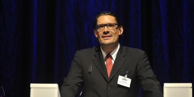 Axel Zwanzig bei der Kür des Treasury des Jahres 2014: Der Manager ist seit Jahresbeginn für den Hamburger Energieversorger Marquard & Bahls tätig.
