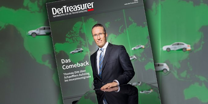 Treasurer Thomas Ditt berichtet über Schaefflers Aufstieg in das Investmentgrade.