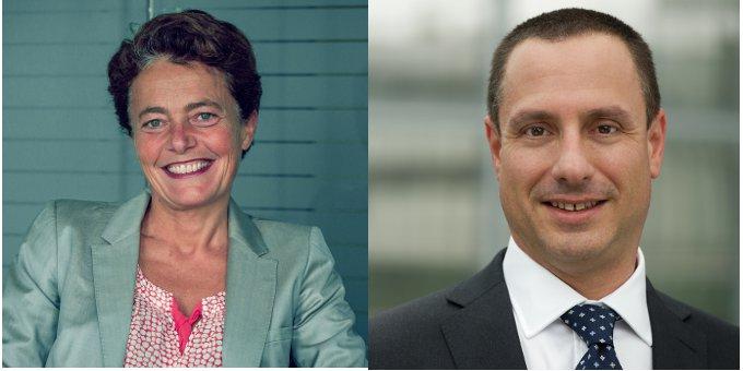 Adeline de Metz und Raphael Barisaac leiten künftig zusammen den Trade-Finance-Bereich der UniCredit.