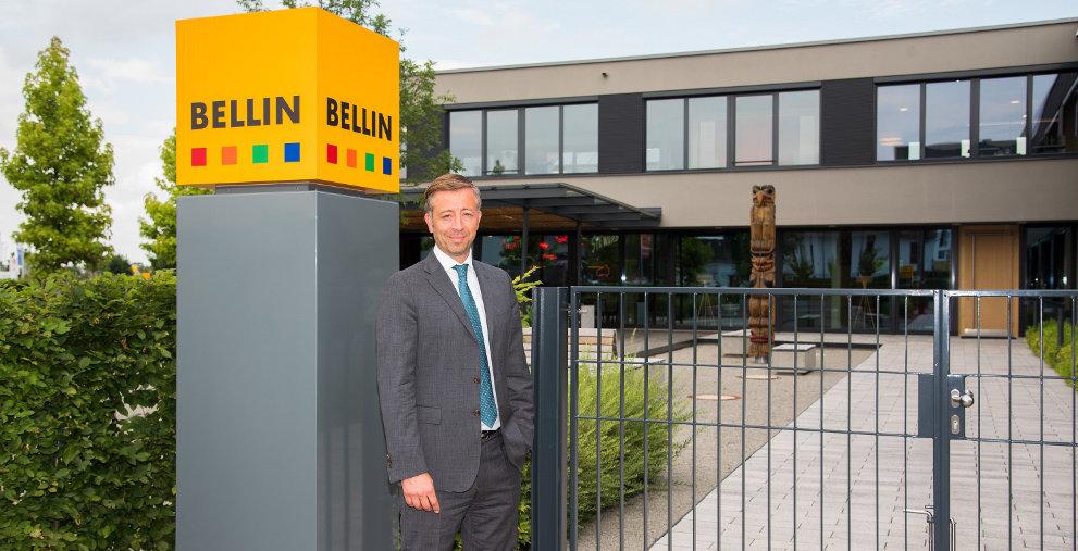 André Scheffknecht verantwortet seit Juni die internationalen Sales-Aktivitäten bei Bellin in Ettenheim.