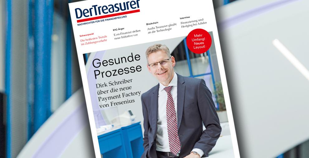 Die neue Printausgabe mit Interviews mit Fresenius, Audi, Adidas und E.on ist da.