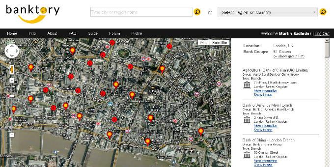 Treamo hat die Suchmaschine banktory.com gestartet.