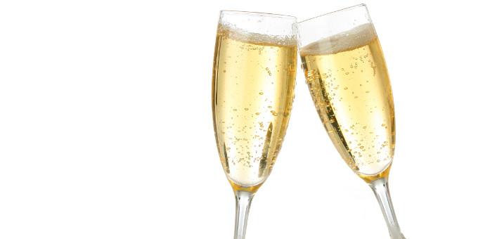 Für Champagner ist es noch etwas zu früh.