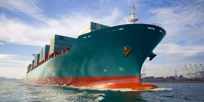 Der Welthandel entwickelt sich positiv.