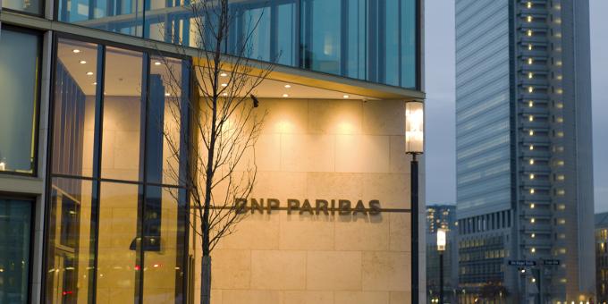 BNP Paribas-Zentrale in Frankfurt: In Deutschland wollen die Franzosen in den kommenden Jahren kräftig wachsen.