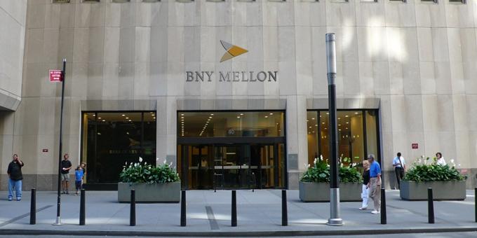 Der Hauptsitz von BNY Mellon an der Wall Street.