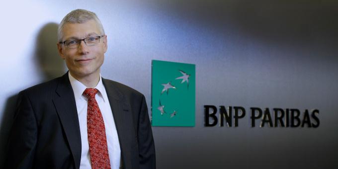 Freut sich über den Deal mit der RBS: Laurent Poiron, Head of Corporate Coverage Deutschland, bei BNP Paribas.