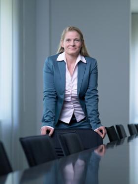 Britta Döttger, Head of Group Treasury bei SGL Carbon