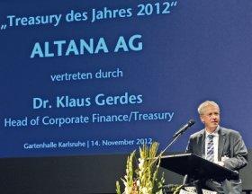 Treasurer des Jahres Altana