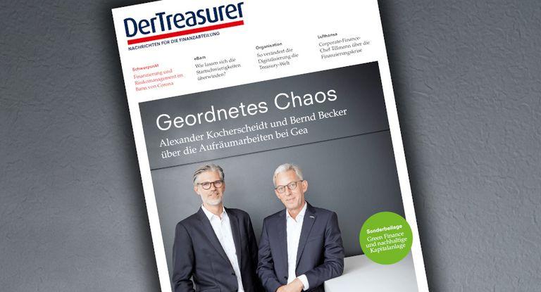 Alexander Kocherscheidt und Bernd Becker berichten über die Aufräumarbeiten bei Gea.