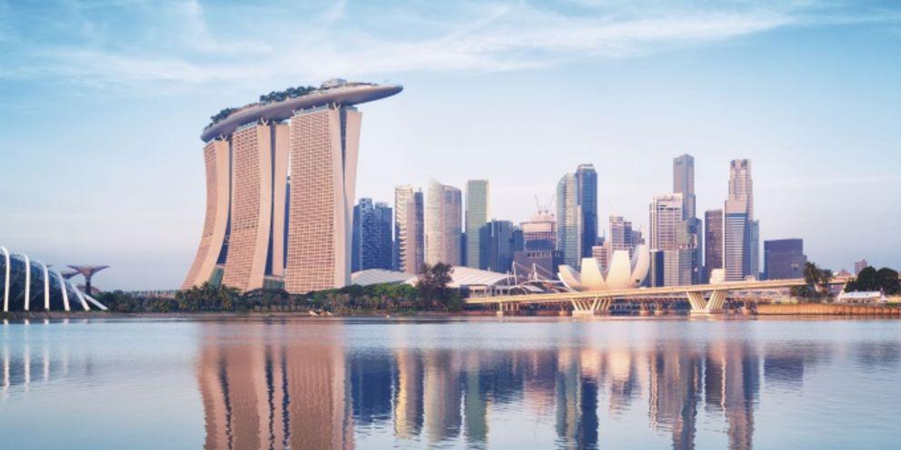 Treasury-Standort Nummer eins in Asien: Singapur.