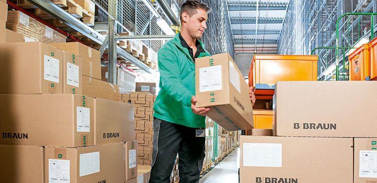 Logistik bei B. Braun: Das Medizintechnikunternehmen hat sich eine neue rechtliche Struktur gegeben. Das hat auch Folgen für die Finanzierung.