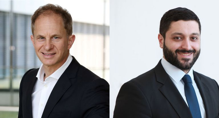 Treasury-Chef Ulf Loleit (links) und IR- und Rating-Leiter Charbel Chamoun erklären, wie sich die Finanzierungsstrategie von ZF in den vergangenen Monaten verändert hat.