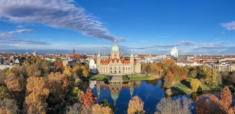 Rathaus in Hannover: Die NordLB hat ein neues Toll fürs Liquiditätsmanagement eingeführt.