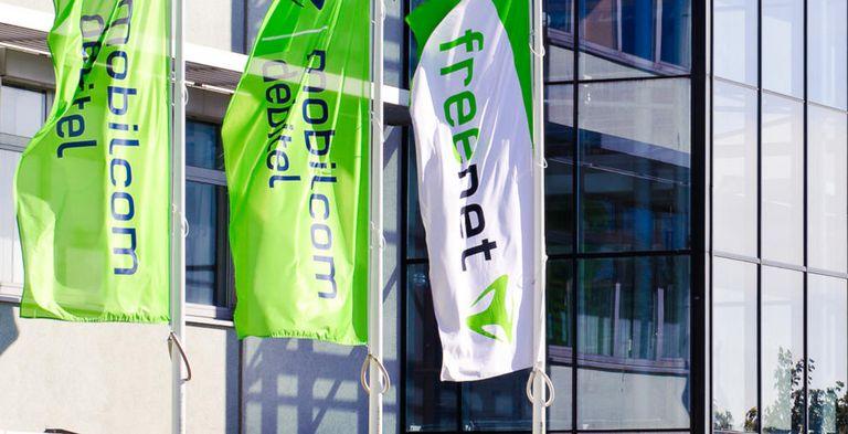 Die Freenet-Zentrale in Büdelsdorf (Schleswig-Holstein): Der Mobilfunker hat seinen Konsortialkredit neu verhandelt und einen Schuldschein emittiert.