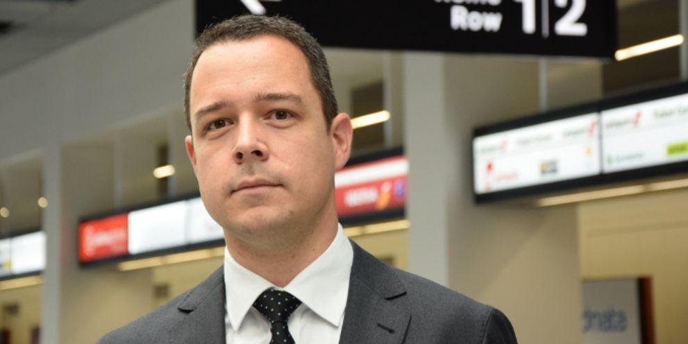 Der frühere Group Treasurer Lukas Brosi wird im Februar 2017 CFO des Flughafen Zürichs.