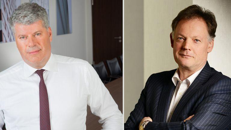 Der Kreditversicherer Euler Hermes stellt sein Management-Team in der DACH-Region neu auf: Milo Bogaerts (rechts) folgt auf Ron van het Hof (links).