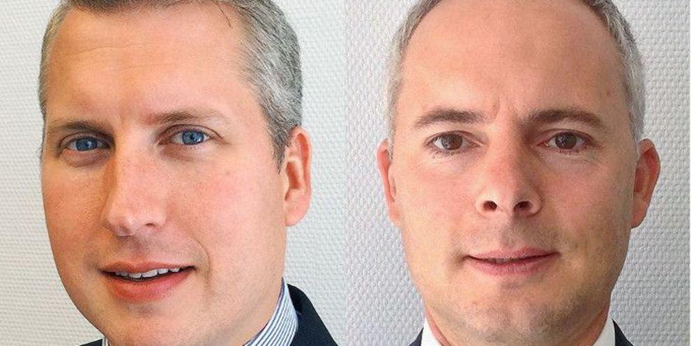 Stefan Baum (rechts) und Michael Norden verstärken das Wholesale Team bei Standard Chartered in Deutschland.