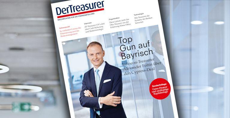 Die neue Zeitschrift ist da! Im Interview: Infineons Treasurer Alexander Foltin über den Cypress-Deal.