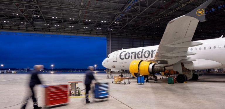 Ein Überbrückungskredit stellt sicher, dass Condor nicht am Boden bleiben muss.