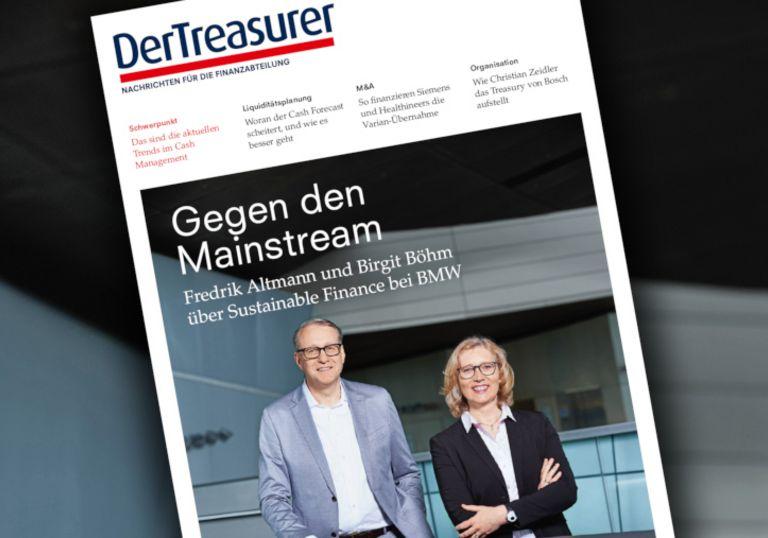 Birgit Böhm und Fredrik Altmann berichten über Sustainable Finance bei BMW.