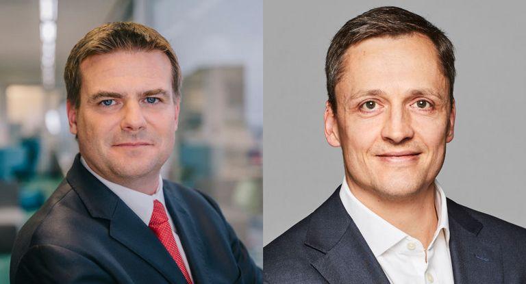 Boris Jendruschewitz (links) steigt zum CFO der Otto-Tochter Venus in den USA auf und übergibt das Group Treasury an Kai Havekost.