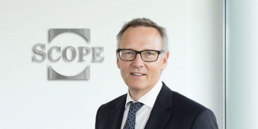"""Aus Expansionskurs: """"Wir werden in Frankreich weiter investieren"""", sagt Torsten Hinrichs, CEO von Scope Ratings."""