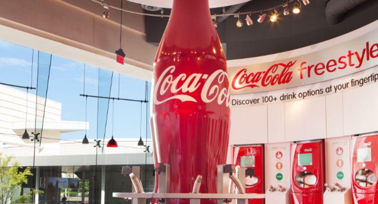 Setzt auf Supply Chain Finance und Taulia: der US-Konzern CocaCola.
