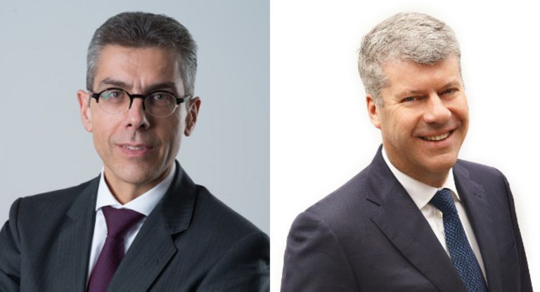 Michael Diederich links hat den Kreditversicherer Euler Hermes nach wenigen Monaten wieder verlassen. Seine Aufgaben übernimmt Ronald van het Hof.