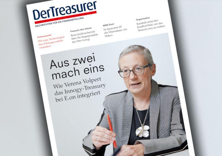 E.on-Finanzleiterin Verena Volpert integriert das Treasury von Innogy.