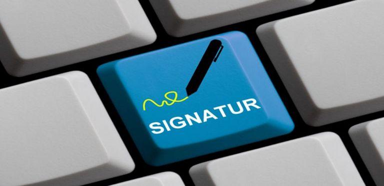 Ein modernes Treasury braucht die E-Signatur.