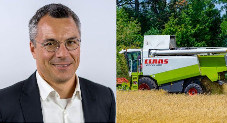 Henner Böttcher übernimmt zum Jahreswechsel den CFO-Posten beim Landmaschinenhersteller Claas.
