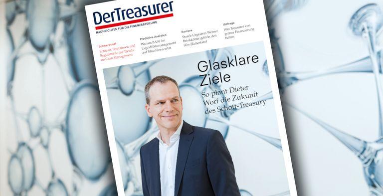 Dieter Worf hat einige Digitalisierungsprojekte im Schott-Treasury angestoßen.