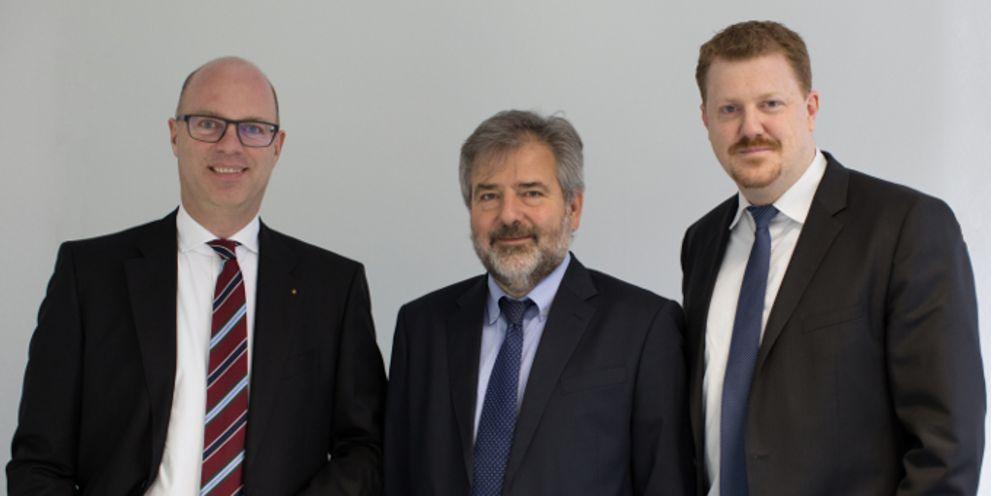 Das neue Führungstrio von Coconet: Axel Wiethoff, Christian Schmidt und Björn Hassing (v.l.n.r.)