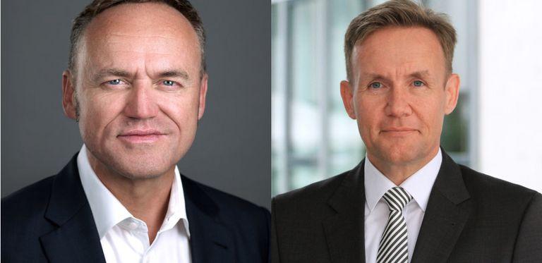 CFO-Wechsel bei der Schön Klinik: Sascha Röber (links) übergibt an Daniel Kunzi.