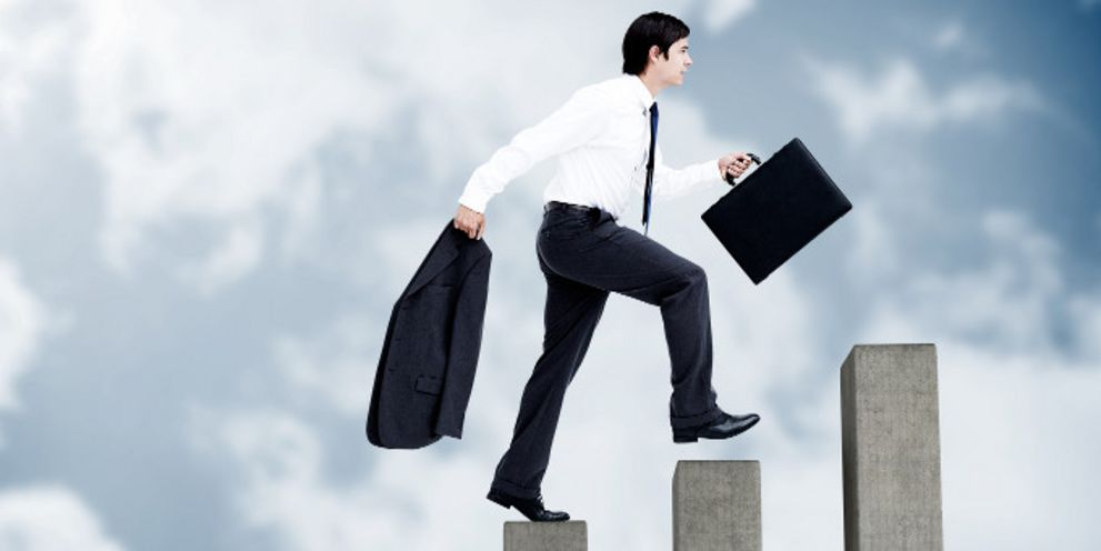 Der Weg nach oben ist beschwerlich - besonders wenn es über die Treasury-Abteilung hinausgehen soll.