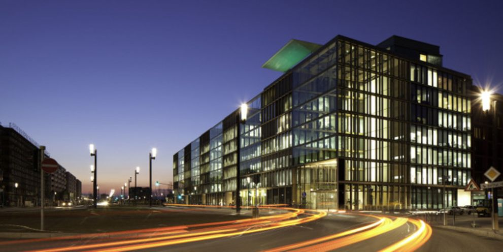 Könnte bald Firmenkunden der RBS übernehmen: die Deutschlandzentrale der BNP Paribas in Frankfurt am Main.