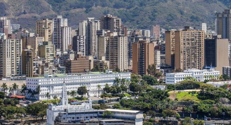 Im Zentrum der Diskussion um baldige Staatspleiten: Caracas in Venezuela