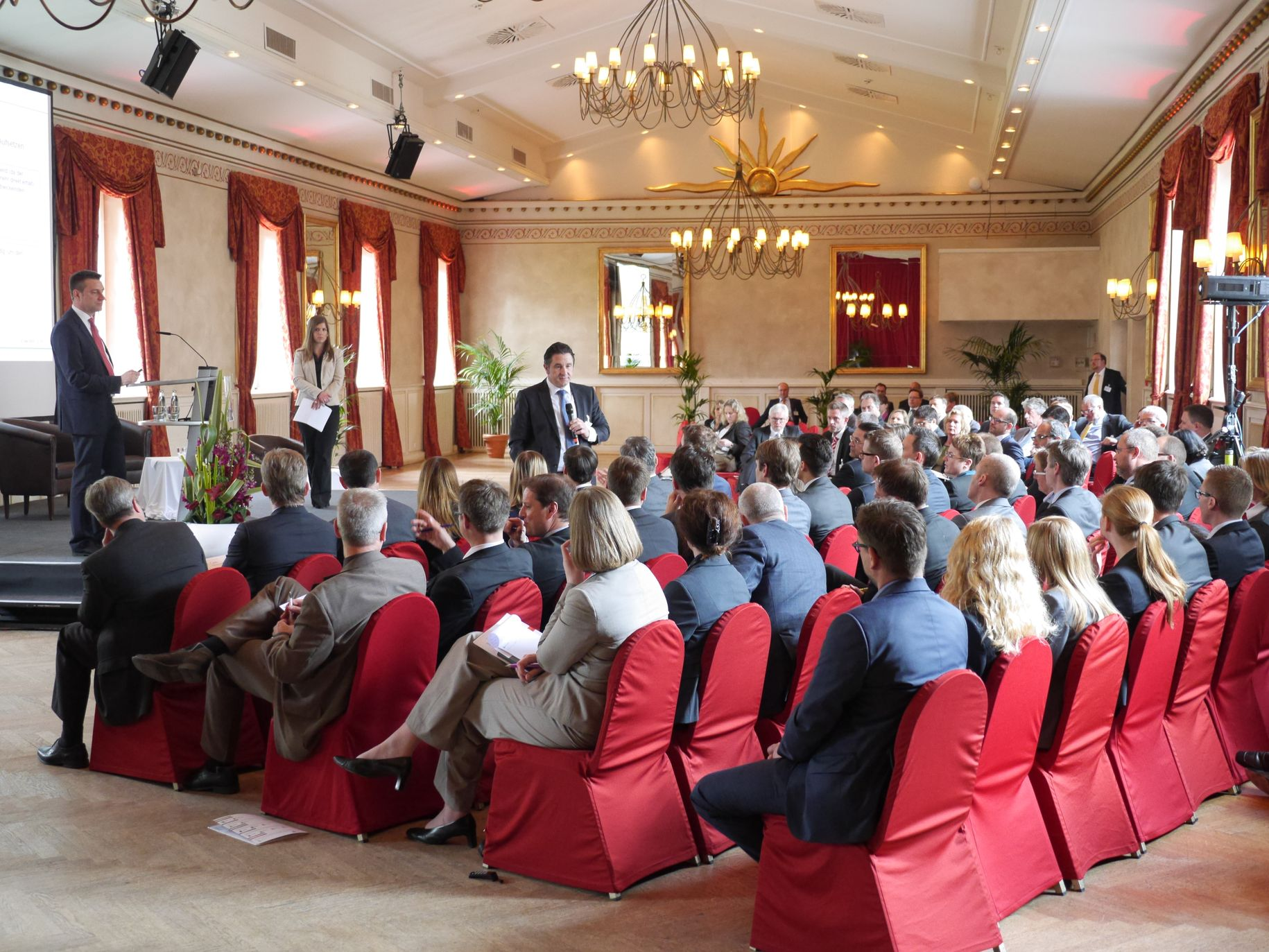 Im Workshop 'Collections on behalf' berichtete spontan Frank Seiler (STADA Arzneimittel AG) aus dem Publikum, wie die STADA Arzneimittel AG mit dem Thema umgeht.