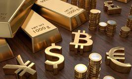 Virtuelle Währungen wie Bitcoin könnten staatliche Währungen und Gold als Zahlungsmittel ablösen, glauben mehr als ein Drittel der Befragten einer Studie von BearingPoint zufolge.