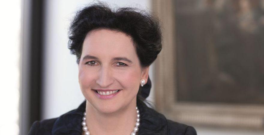 Nach neun Jahren im HSBC-Trinkaus-Vorstand rückt sie im Juni an die Spitze der Bank: Carola von Schmettow.