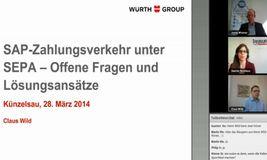 Claus Wild, Sepa-Projektmanager bei Würth, sprach im Webinar von DerTreasurer über die Stellen, bei denen es nach der Umstellung noch hakt.