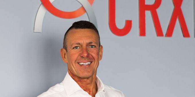 Frank Lutz startet beim Fintech CRX Markets durch.