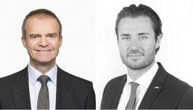 """Jens Hohnwald (rechts) leitet nach dem Ausscheiden von Manfred Fleckenstein (links) künftig allein das Team """"Transaction Services Sales"""" bei der SEB Deutschland."""