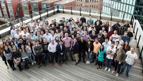 Das Kreditech-Team in der Hamburger Zentrale