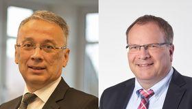 Treasury-Chef Günther Gallersdörfer (links) und CFO Andreas Riedl haben mit Surteco den ersten Schuldschein der Unternehmensgeschichte aufgelegt.