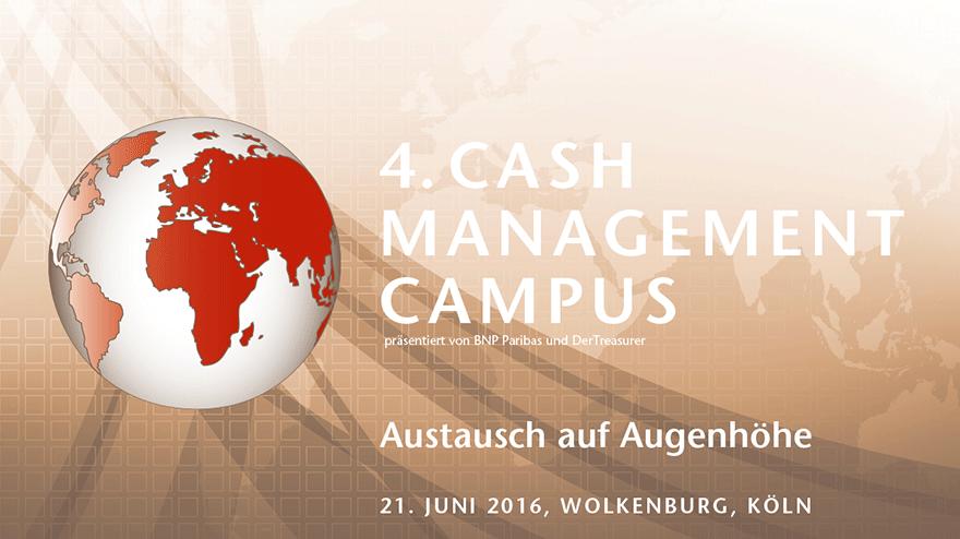 Cash Management Campus 2016
